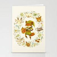 The Legend Of Zelda: Mam… Stationery Cards