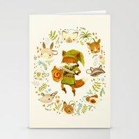 The Legend of Zelda: Mammal's Mask Stationery Cards
