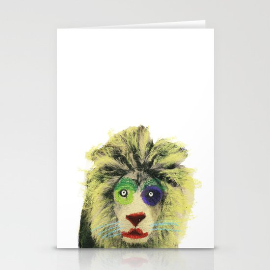 Lion Stationery Card