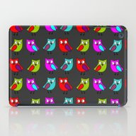 Owl Line Up iPad Case
