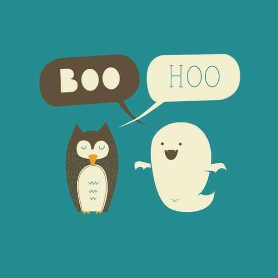 Boo Hoo Art Print