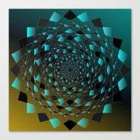 Magic Circle Canvas Print
