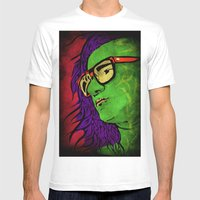 Skrillex Mens Fitted Tee White SMALL