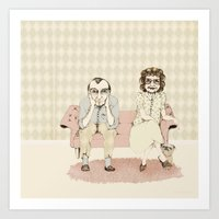 45 Years Married! Art Print