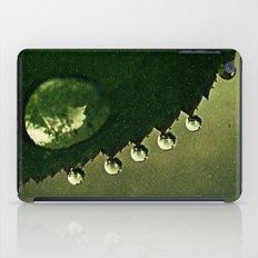 Leaf Drops iPad Case