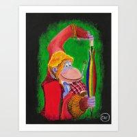 Who Dis Doctor 6 Art Print