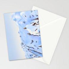 Winter Flight - Drawing 2 Stationery Cards