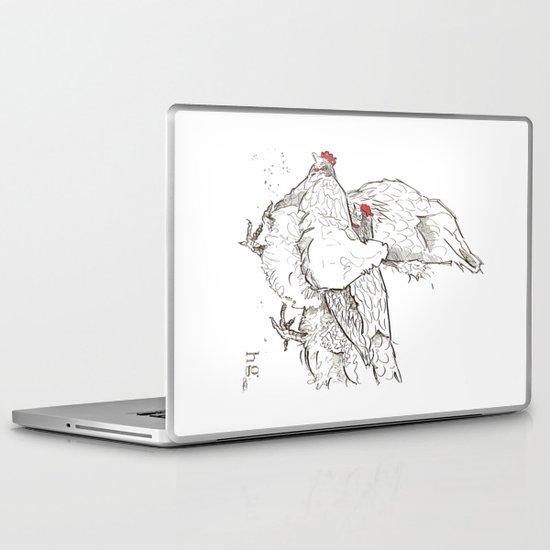 Pecking Laptop & iPad Skin