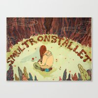 Smultronstället Canvas Print