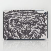 Angry Wolf iPad Case
