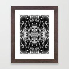 Geometropolis Framed Art Print