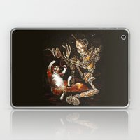 Robot And Cat In The Wil… Laptop & iPad Skin