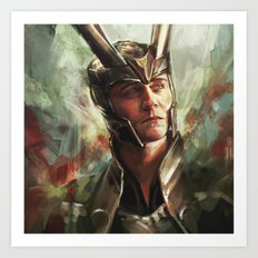 The Prince of Asgard Art Print