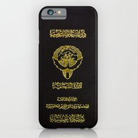 Kuwaiti Pass Black iPhone 6 Slim Case