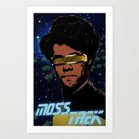 Moss Trek Art Print