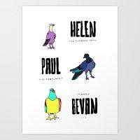 Bevan Art Print