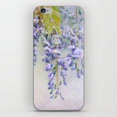 wisteria iPhone & iPod Skin