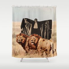 Dracula's Bitches Shower Curtain