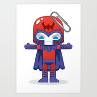 MAGNETO ROBOTIC Art Print