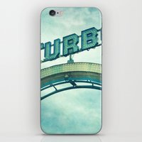 Turbo iPhone & iPod Skin
