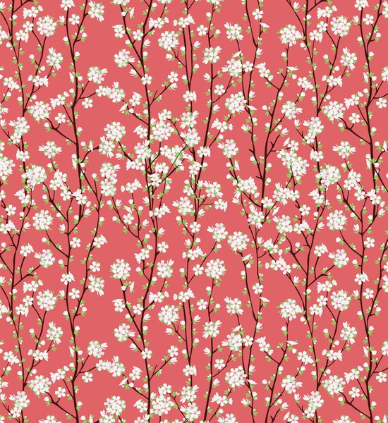 Go Orient Cherry Blossoms Art Print
