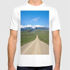 Old Country Road SMALL Mens Fitted Tee White