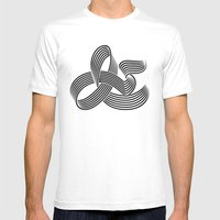 Eye bending Ampersand. Mens Fitted Tee White SMALL