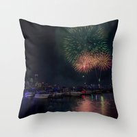 Happy Birthday, USA - 2 Throw Pillow