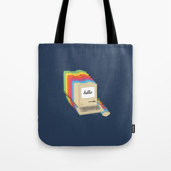 Macintosh Cascade Tote Bag