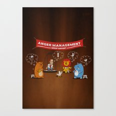 Wrath - Anger Management Canvas Print