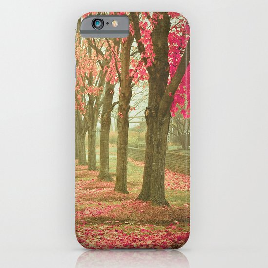 Scarlet Autumn iPhone & iPod Case