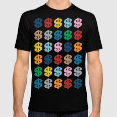 Colourful Money 48 Mens Fitted Tee Black SMALL