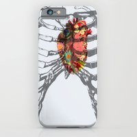 iPhone & iPod Case featuring Ribcage by Portia Alice