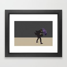 I will get there! Framed Art Print