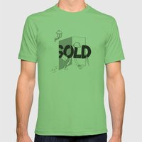 Sold Out Mens Fitted Tee Grass SMALL