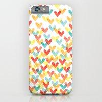 Falling Hearts iPhone 6 Slim Case