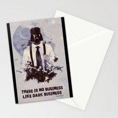 Dark Business. Stationery Cards