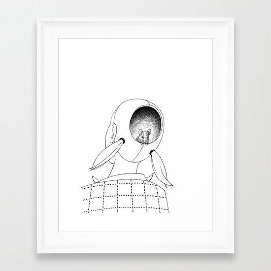 Eep Framed Art Print