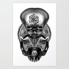 Grimoire Art Print