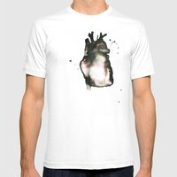 On love, Mens Fitted Tee White SMALL
