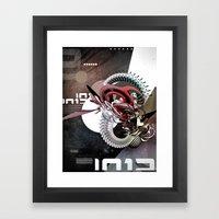 BZZSAWRMXX Framed Art Print