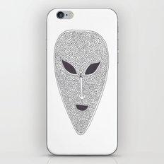 Celtic Alien iPhone & iPod Skin