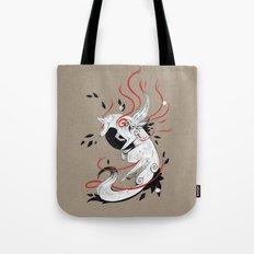 OKAMI RIBBONS Tote Bag