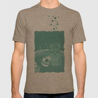 Snorkeling Mens Fitted Tee Tri-Coffee SMALL