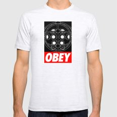 OBEY - Big Daddy Mens Fitted Tee Ash Grey SMALL