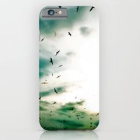 iPhone & iPod Case featuring Descendants of Icarus by Elina Cate