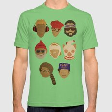 Wes Anderson Hats Mens Fitted Tee Grass SMALL