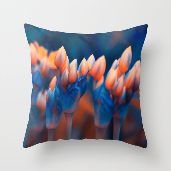 Floral abstract(4). Throw Pillow