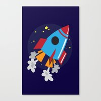 Space Cruiser Canvas Print