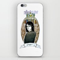 snape iPhone & iPod Skin